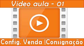 Vídeo aula sobre configuração da tela de venda