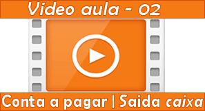 Vídeo aula como gerar contas apagar | Saída de caixa
